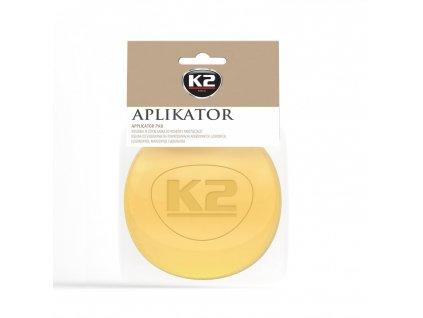 K2 pěnový aplikátor pro práci s autokosmetikou 1 ks