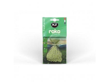 K2 ROKO osvěžovač vzduchu v sáčku GREEN TEA V822 20 g