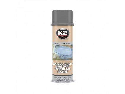 K2 PRIMER podklad, akrylový nátěr - šedá L348 500 ml