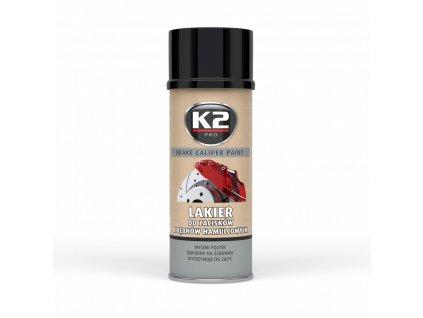 BRAKE CALIPER PAINT 400 ml - ČERNÁ - barva na brzdové třmeny a bubny