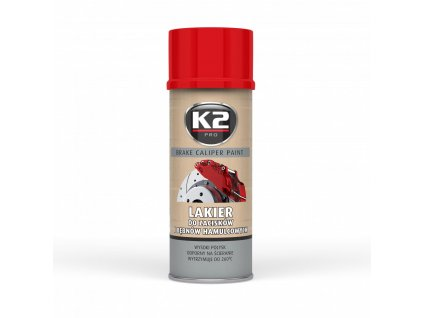 K2 BRAKE CALIPER PAINT Barva na brzdové třmeny - červená L346CE 400 ml