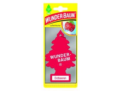 Wunder-Baum osvěžovač vzduchu stromeček STRAWBERRY 23-012 5 g