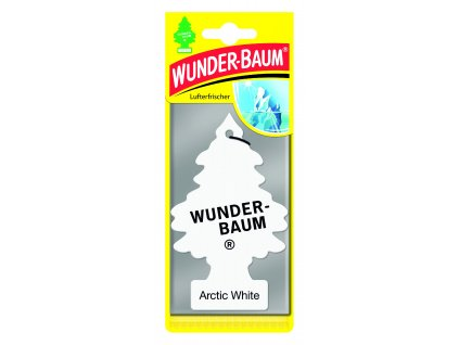 Wunder-Baum osvěžovač vzduchu stromeček ARTIC WHITE 23-137 5 g
