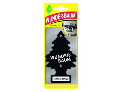 Wunder-Baum osvěžovač vzduchu stromeček BLACK CLASSIC 23-015 5 g