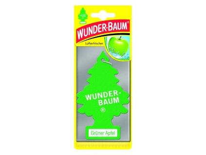 Wunder-Baum osvěžovač vzduchu stromeček ZELENÉ JABLKO 23-002 5 g