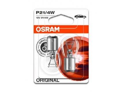 ŽÁROVKA OSRAM 7225-02B P21/4W BAZ15d 12V 21/4W - BLISTER 2KS