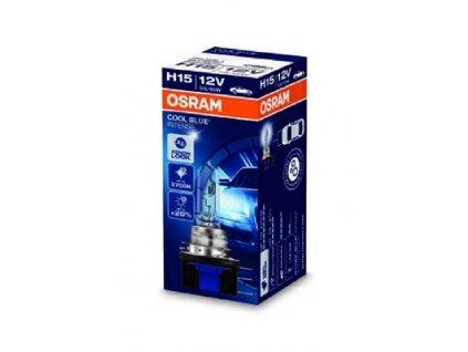 ŽÁROVKA OSRAM Cool Blue Intense 64176CBI H15 PGJ23t-1 12V 55/15W