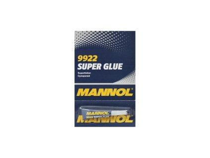 MANNOL Super Glue 3g - vteřinové lepidlo