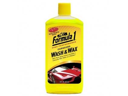 Formula 1 Autošampon + palmový vosk Carnauba 475 ml