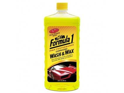 Formula 1 Autošampon + palmový vosk Carnauba 950 ml