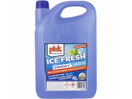 PLAK ICE FRESH Zimní kapalina do ostřikovačů -20°C 4L