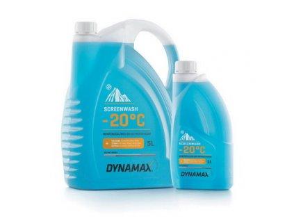 Zimní směs do ostřikovačů DYNAMAX - 1L (-20°C)