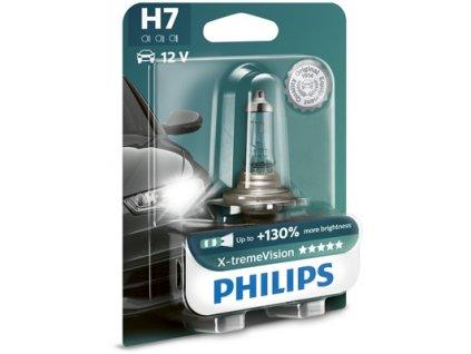 ŽÁROVKA PHILIPS X-TREME VISION 12972XVB1 H7 PX26d 12V 55W