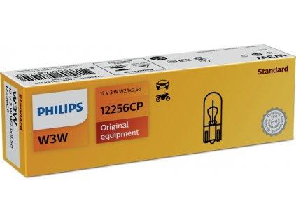 ŽÁROVKA PHILIPS 12256CP W3W W2,1x9,5d 12V 3W