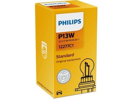 ŽÁROVKA PHILIPS 12277C1 P13W PG18,5d-1 12V 13W