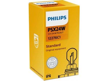 ŽÁROVKA PHILIPS 12276C1 PSX24W PG20/7 12V 24W