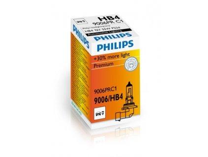 ŽÁROVKA PHILIPS VISION +30% 9006PRC1 HB4 P22d 12V 51W
