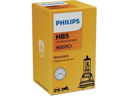 ŽÁROVKA PHILIPS 9007C1 HB5 PX26t 12V 65/55W