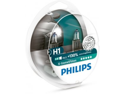 ŽÁROVKA PHILIPS X-THEME VISION 12258XV+S2 H1 P14,5s 12V 55W - 2KS