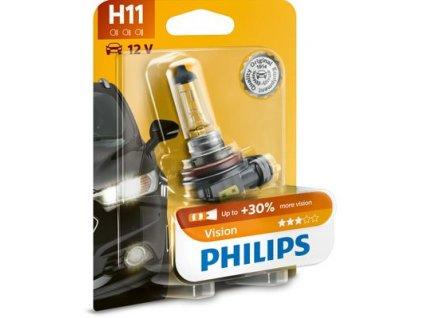 ŽÁROVKA PHILIPS VISION 12362PRB1 H11 PGJ19-2 12V 55W