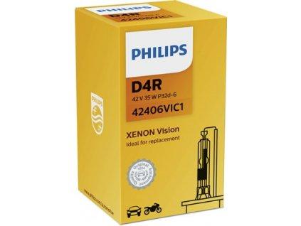 ŽÁROVKA PHILIPS VISION 42406VIC1 D4R P32d-6 42V 35W