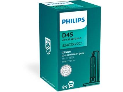 ŽÁROVKA PHILIPS X-TREME VISION 42402XV2C1 D4S P32d-5 42V 35W