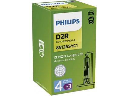 ŽÁROVKA PHILIPS XENON LONG LIFE 85126SYC1 D2R P32d-3 85V 35W