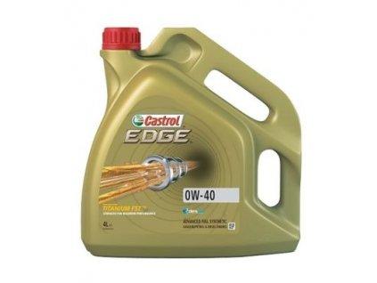 Castrol Edge Titanium FST 0W-40 4 l