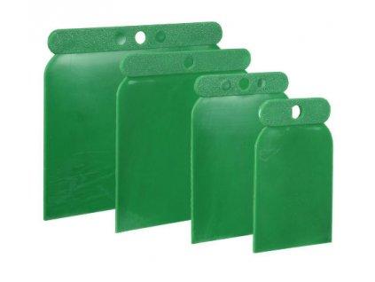 Plastové špachtle 4ks s různými šířkami BOLL 0060061