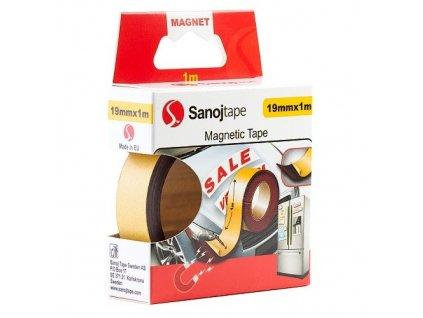 Magnetická páska 19mm x 1m