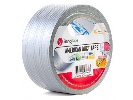 Stříbrná opravná páska 50mm x 25m