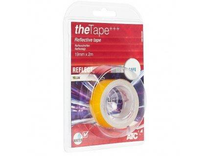 Reflexní samolepící páska žlutá 19mm x 0,14mm x 2m