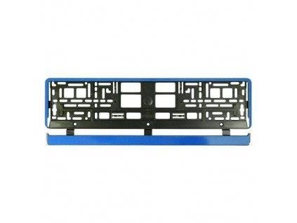 Podložka pod ŠPZ-os. auto - 1ks HP modrá