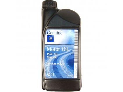 Motorový olej GM Genuine 15W-40, 1L