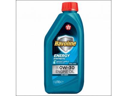 Texaco Havoline Energy 0W-30 - 1 l