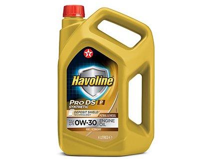 Texaco Havoline ProDS P 0W-30 4 l