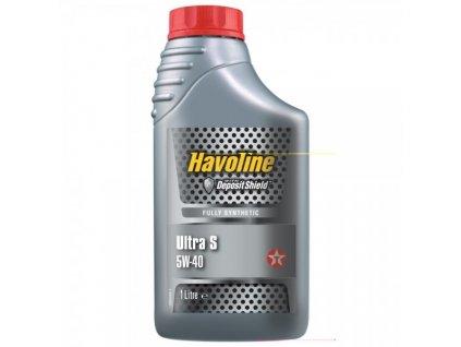 Texaco Havoline Ultra S 5W-40 1 l