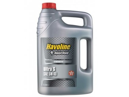 Texaco Havoline Ultra S 5W-40 4 l