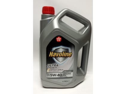 Texaco Havoline Ultra 5W-40 4 l
