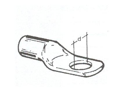Oko na bateriový kabel