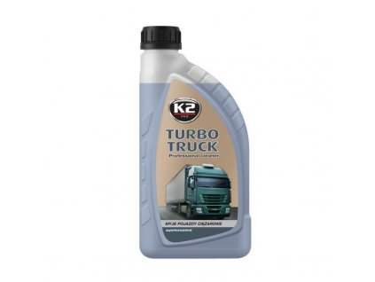 K2 TURBO TRACK koncentrát na mytí aut, cisteren, autobusů, podvozků, kol, aluminiových částí, servisního nářadí 1 kg
