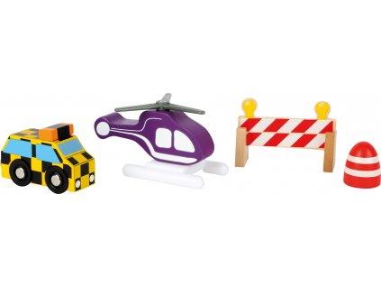 Auta, okolí vláčkodráh