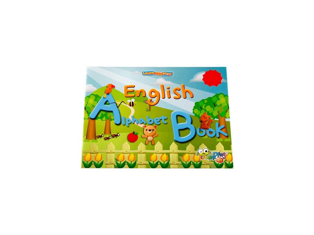 Jumping Alphabet: knížka Anglická abeceda s Jumping Clay