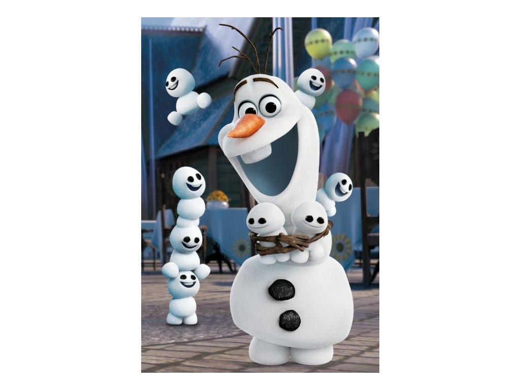 DINO Puzzle Disney pohádky: Olaf 54 dílků - lehce poškozený obal