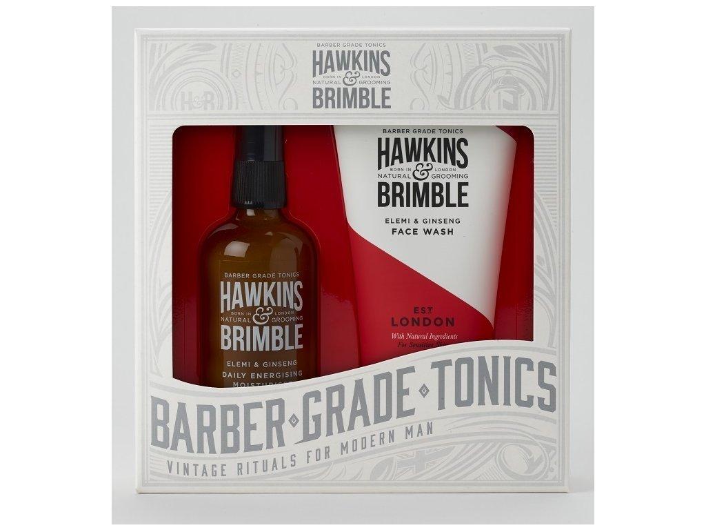 42587 1 hawkins brimble panska darkova sada myci gel na oblicej 150ml pletovy krem 100ml