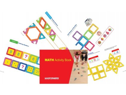 Magformers - Math Activity Book (anglicky)