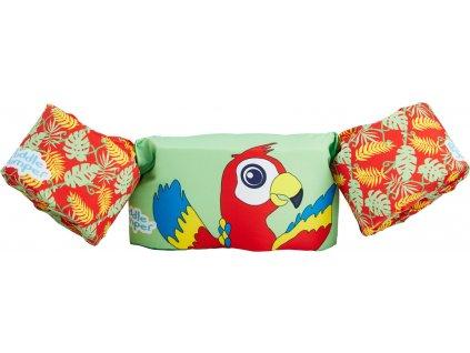 Puddle jumper papoušek