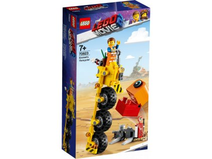 LEGO® Movie 2™ 70823 Emmetova tříkolka!