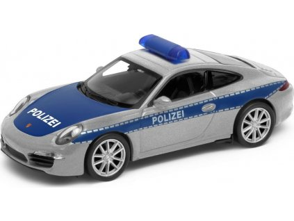 Welly - Porsche 911 (991) Carrera S model 1:34 Polizei