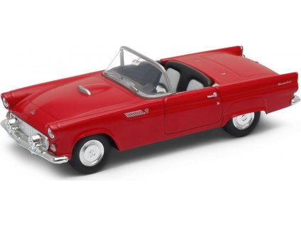 Welly - Ford Thunderbird (1955) model 1:34 modrý